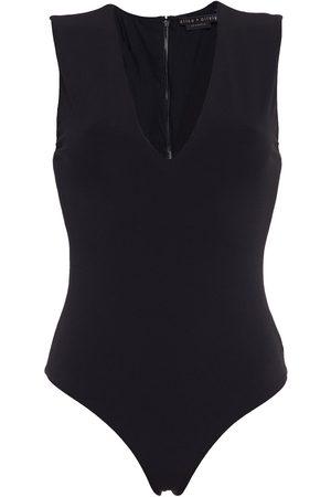 ALICE + OLIVIA Women Bodies - Woman Marley Stretch-jersey Bodysuit Size L