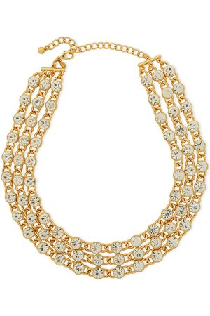 Kenneth Jay Lane Women Necklaces - Woman -plated Crystal Necklace Size