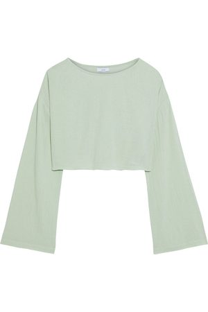 ONIA Women Tops - Woman Long Sleeved Top Mint Size S
