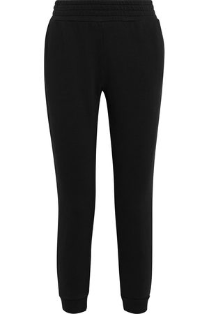 ALICE+OLIVIA Women Trousers - Woman Nyc Cropped Fleece Track Pants Size L