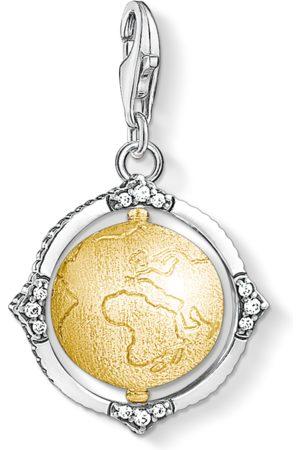 THOMAS SABO Charm pendant Vintage globe coloured 1711-849-39