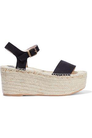 MANEBI Manebí Woman Suede Platform Espadrille Sandals Size 37