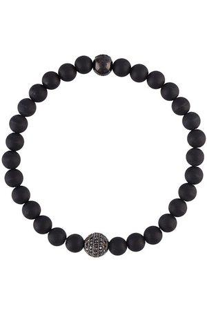 Nialaya Onyx beaded bracelet
