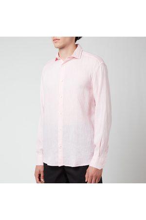 Frescobol Carioca Men Long sleeves - Men's Antonio Linen Long Sleeve Shirt
