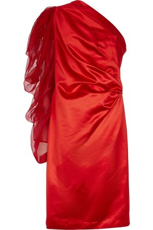 DRIES VAN NOTEN Exclusive to Mytheresa – Cotton and silk-satin midi dress