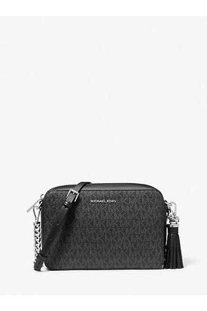 Michael Kors MK Ginny Medium Logo Crossbody Bag - - Michael Kors