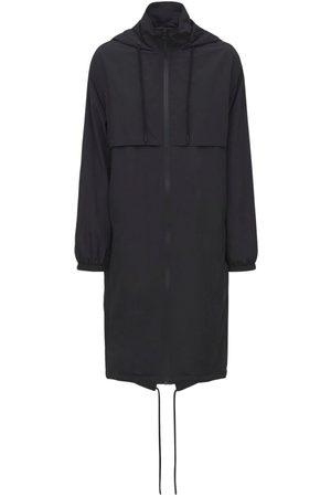 Paco rabanne Women Parkas - Nylon Oversized Parka Coat