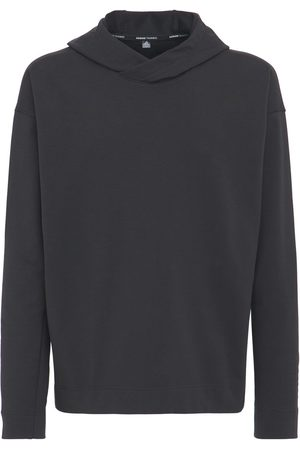 ADIDAS PERFORMANCE Yoga Coverup Cotton Blend Sweatshirt