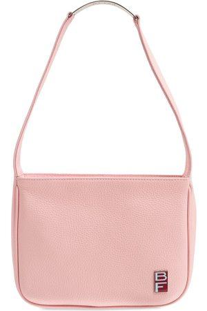 By Far Venice Flat Grain Leather Shoulder Bag