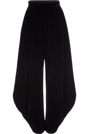Armani Viscose & Silk Velvet Baloon Pants