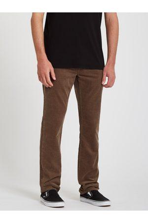 Volcom Men's Vorta 5 Pocket Cord Pant - MUSHROOM