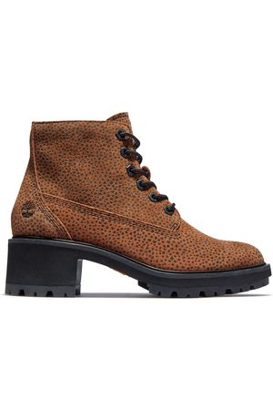 Timberland Kori park 6 inch lace-up boot for women in animalier print , size 3.5