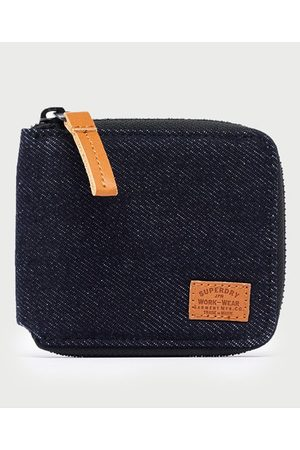 Superdry Men Purses & Wallets - Classic Fabric Zip Wallet