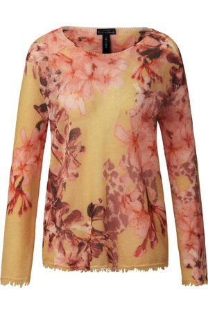 Marc Cain Round neck jumper floral impressions multicoloured size: 8
