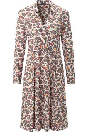 Basler Dress with shirt collar multicoloured size: 10