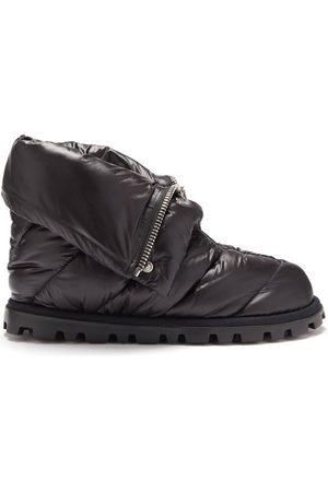 Miu Miu Zipped Quilted Ski Boots - Womens