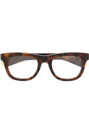 Retrosuperfuture Sunglasses - Ciccio angular glasses - Classic havana