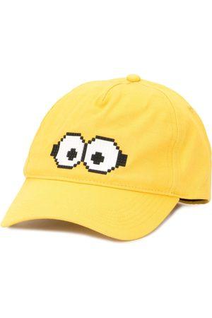 MOSTLY HEARD RARELY SEEN X Minions Tiny Goggles 8-Bit baseball cap