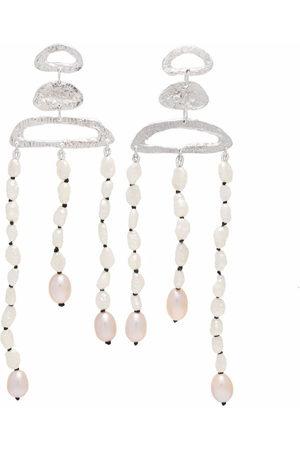 LOVENESS LEE Women Earrings - Theana draped pearl earrings