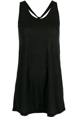 AMIR SLAMA Crossover straps dress