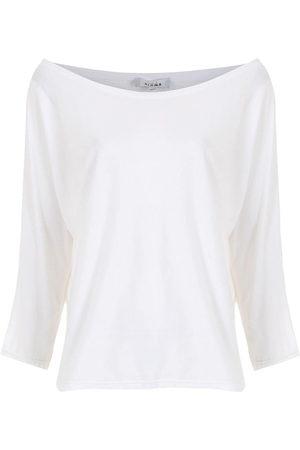 AMIR SLAMA Boat neck blouse