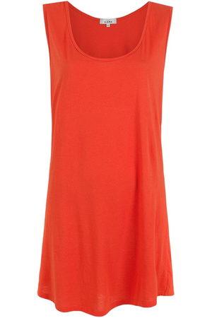 AMIR SLAMA Sleeveless T-shirt dress