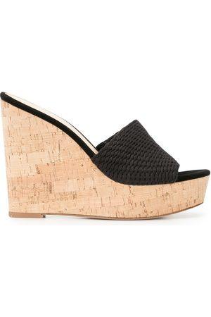 VERONICA BEARD Dali wedge 125mm sandals