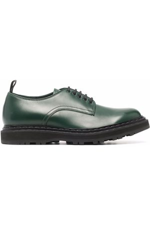 Officine creative Lydia leather lace-up shoes