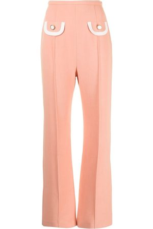George Keburia Pouch-pocket tailored trousers