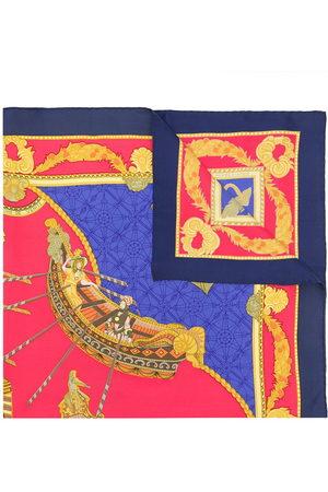 Hermès 1990s pre-owned Les Bissone de Venise scarf