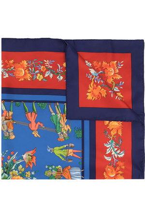 Hermès Scarves - 1990s pre-owned Les Jardiniers du Roy silk scarf