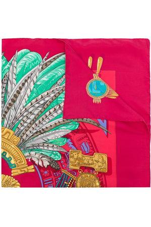 Hermès Scarves - 1990s pre-owned Mexique scarf