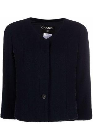 CHANEL 1999 cropped wool jacket