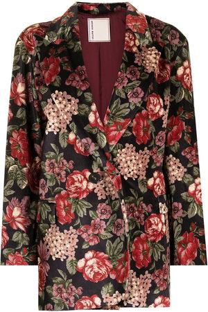 Antonio Marras Floral-print single-breasted blazer