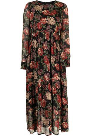 Antonio Marras Floral-print ruffled dress