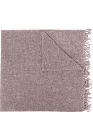 Malo Fringed cashmere scarf