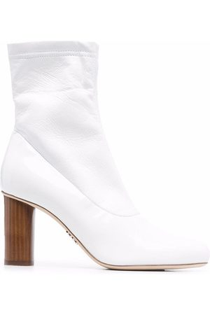 RODO Chunky leather ankle boots
