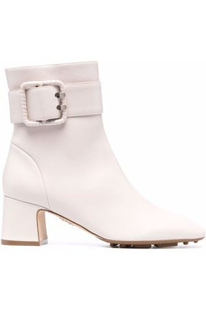 RODO Buckle-embellished ankle boots