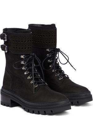 Alaïa Laser-cut leather boots