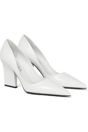 Prada Women Heels - Leather pumps