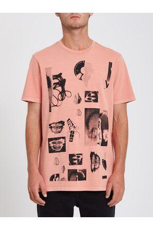 Volcom Men Short Sleeve - Men's Raftwo T-shirt - DESERT SAND