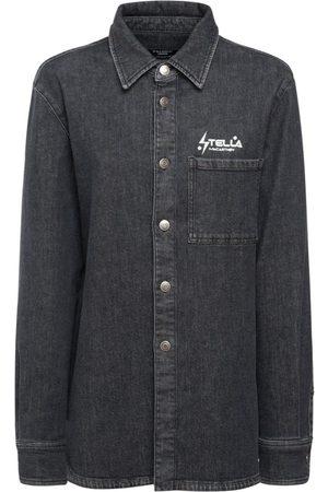 Stella McCartney Women Shirts - Wash Denim Shirt
