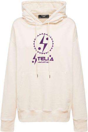 Stella McCartney Logo Print Cotton Hoodie