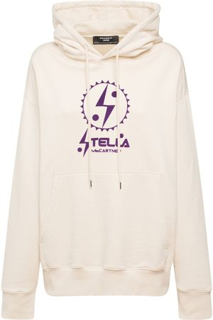 Stella McCartney Women Sweatshirts - Logo Print Cotton Hoodie