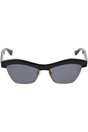 Bottega Veneta Geometrical Acetate Sunglasses