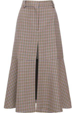 Stella McCartney Houndstooth Long Skirt