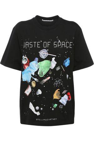 Stella McCartney Space Print Cotton T-shirt