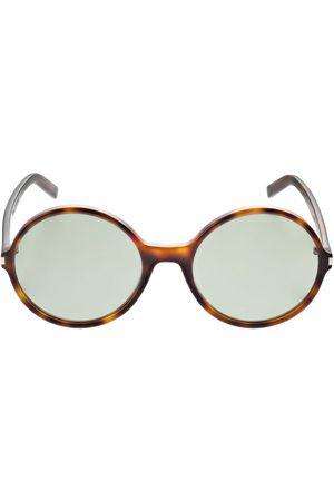 Saint Laurent Ysl Classic 11 Round Acetate Sunglasses