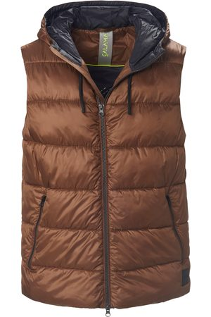 CALAMAR Quilted waistcoat in water-repellent microfibre size: 38