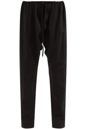 Fil De Vie Marrakech Drawstring Linen Trousers - Womens